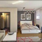 расстановка мебели в однокомнатной квартире декор