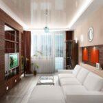 расстановка мебели в однокомнатной квартире фото декора