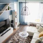 расстановка мебели в однокомнатной квартире интерьер фото