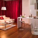 расстановка мебели в однокомнатной квартире идеи интерьер