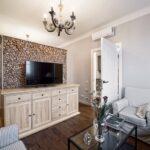 расстановка мебели в однокомнатной квартире фото оформления