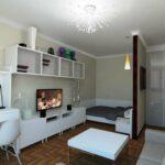 расстановка мебели в однокомнатной квартире идеи оформление