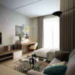 расстановка мебели в однокомнатной квартире идеи оформления