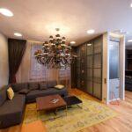 расстановка мебели в однокомнатной квартире варианты фото
