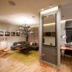 расстановка мебели в однокомнатной квартире фото варианты
