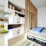 расстановка мебели в однокомнатной квартире идеи вариантов