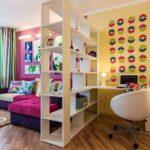 расстановка мебели в однокомнатной квартире виды фото