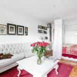 расстановка мебели в однокомнатной квартире виды идеи