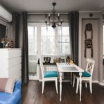 расстановка мебели в однокомнатной квартире обзор