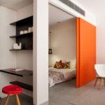 расстановка мебели в однокомнатной квартире дизайн фото