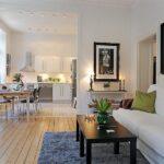 расстановка мебели в однокомнатной квартире фото дизайна