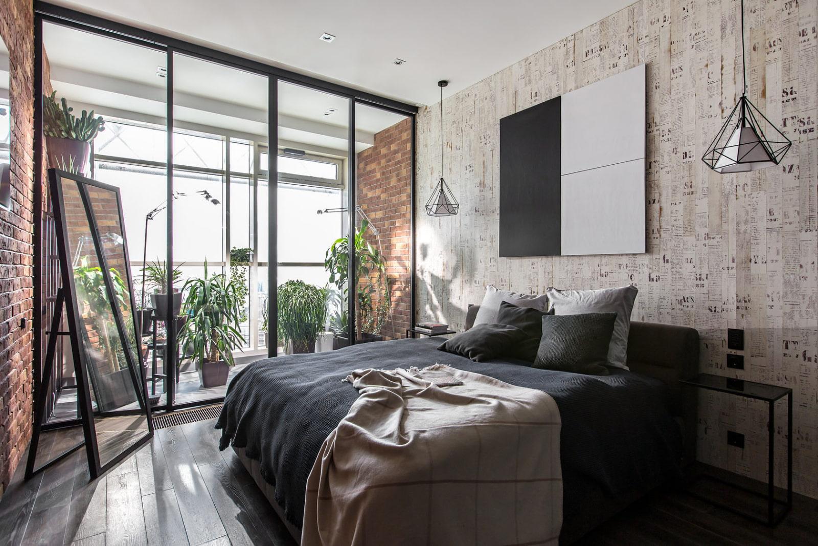 расстановка мебели в спальне дизайн идеи