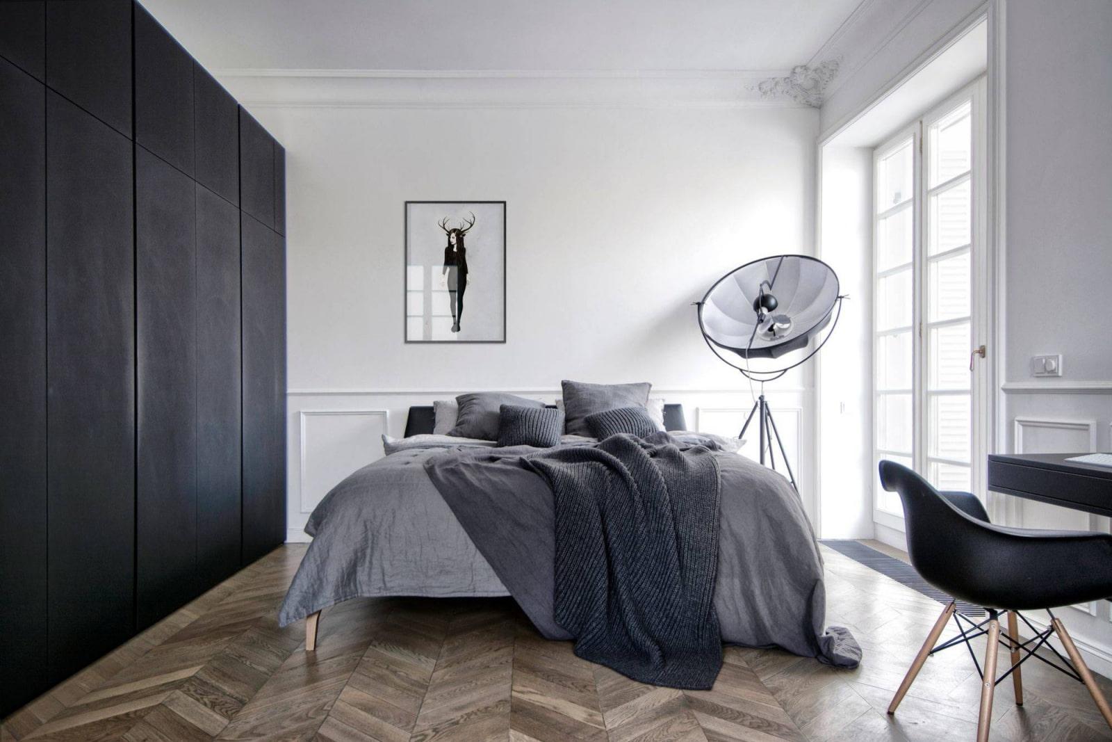 расстановка мебели в спальне идеи дизайн
