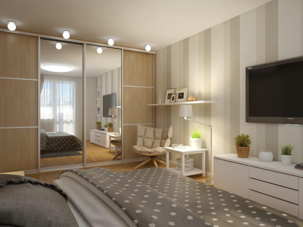 расстановка мебели в спальне фото варианты
