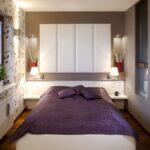 расстановка мебели в спальной комнате декор фото
