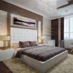 расстановка мебели в спальной комнате фото интерьер