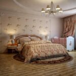 расстановка мебели в спальной комнате идеи интерьер