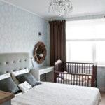 расстановка мебели в спальной комнате оформление
