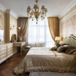 расстановка мебели в спальной комнате фото оформление