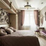расстановка мебели в спальной комнате