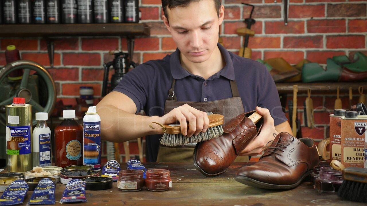 самостоятельный уход за обувью
