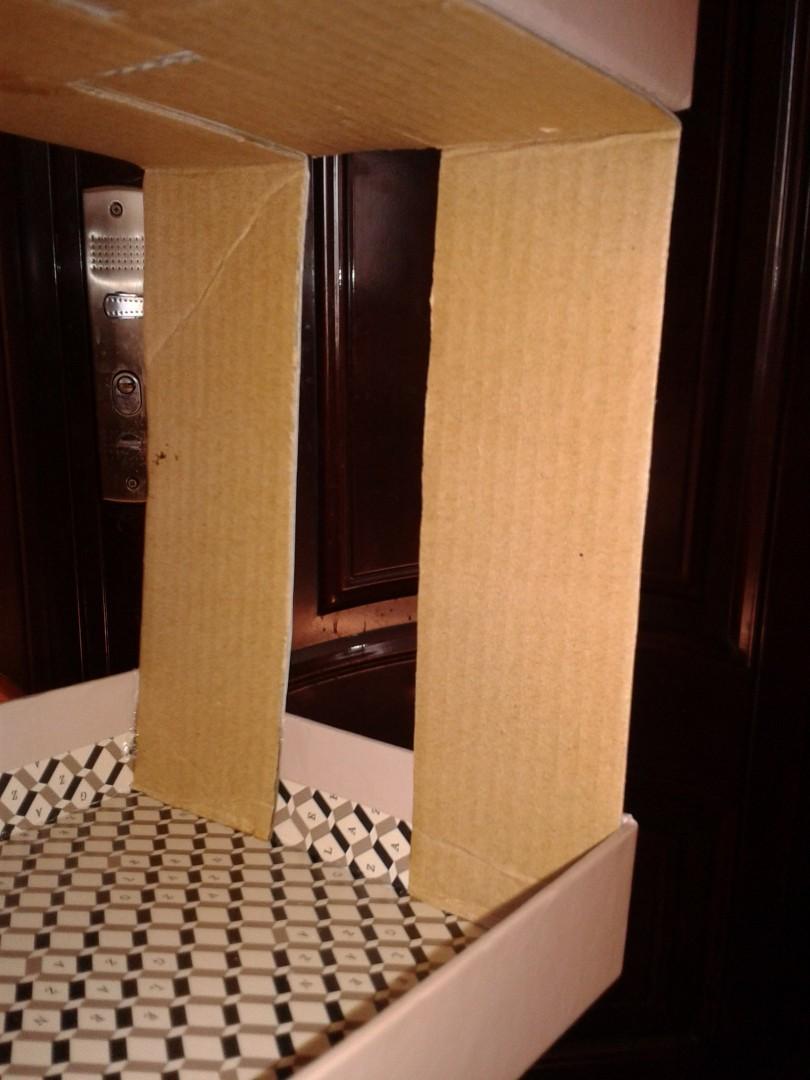 Сборка мебели из картона