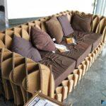 диван из картона