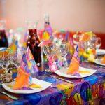 сервировка стола на детский праздник идеи