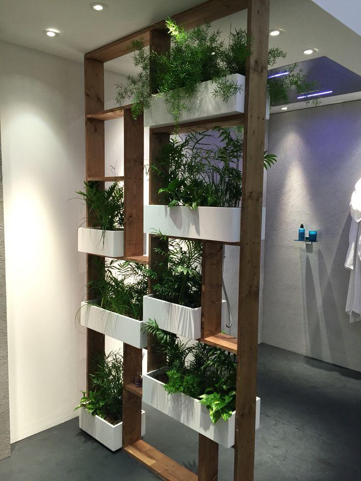 шкаф-перегородка для цветов