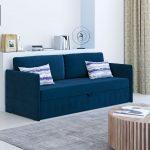 синий диван индиго