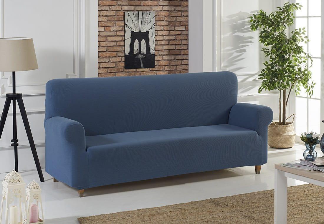 синий диван в гостиную