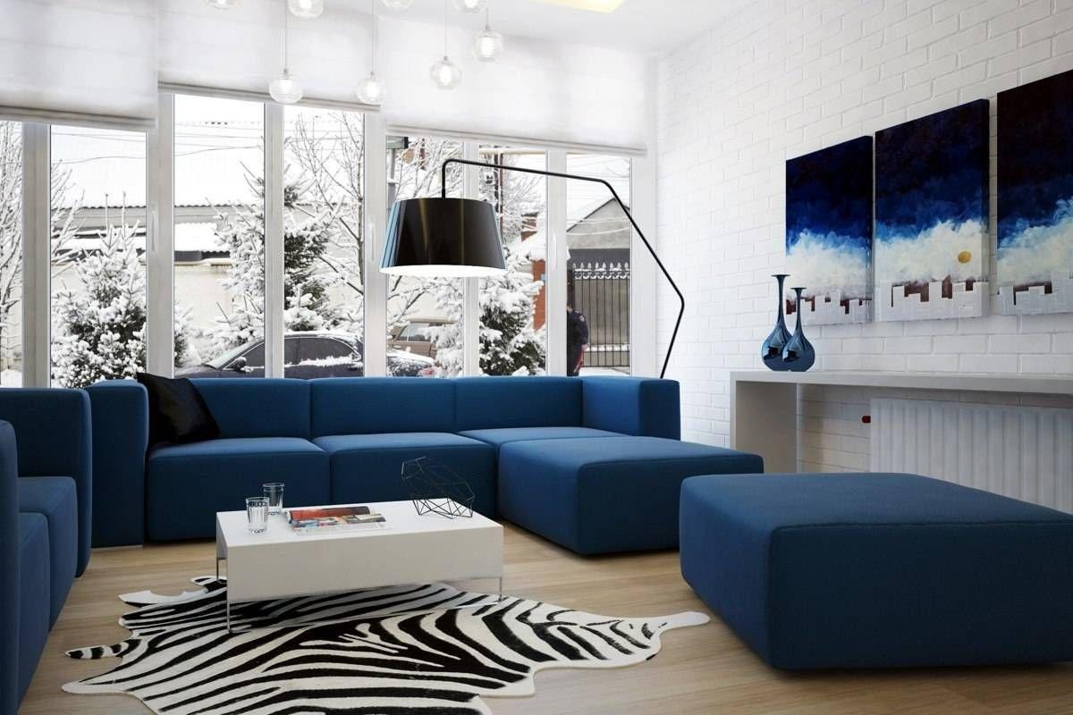плюсы и минусы синего дивана
