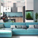 син голубойий диван