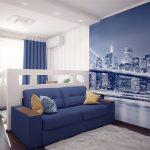 синий диван нью йорк