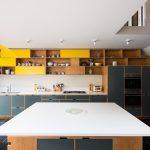 цвета в интерьере серая кухня