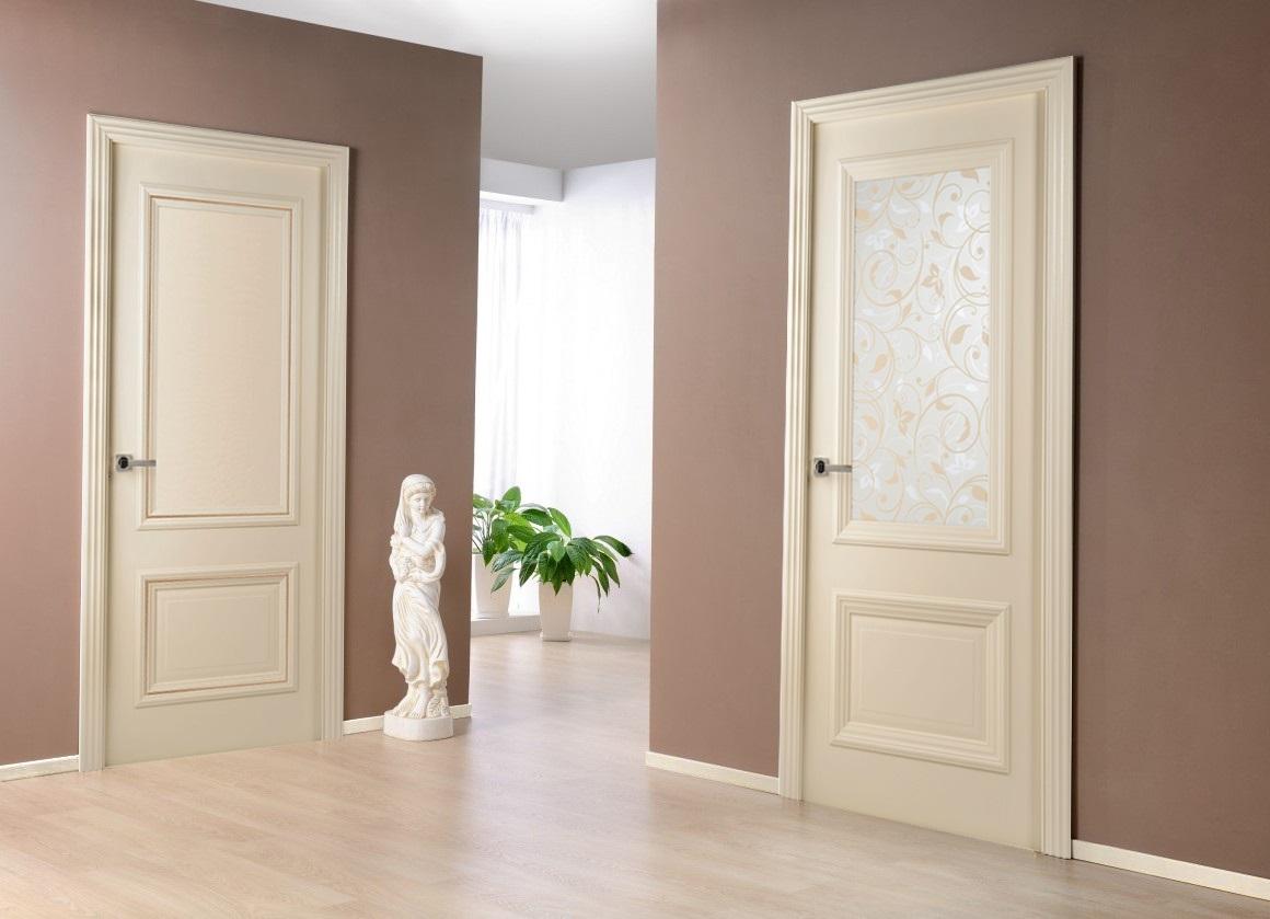 цвет межкомнатных дверей