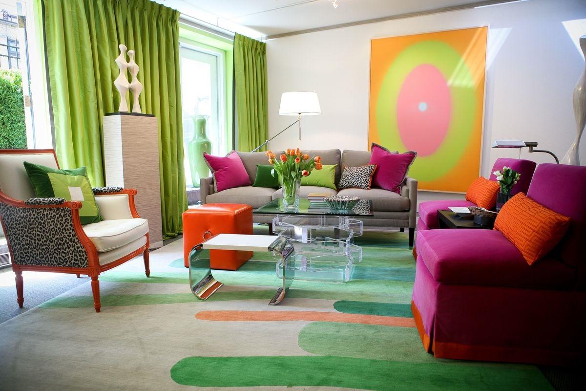 цвета для гостиной