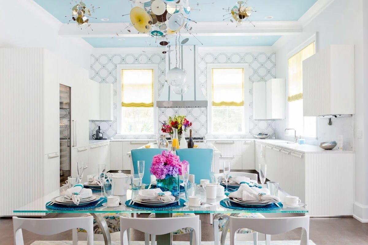 цветовая гамма для кухни