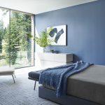 цвета в интерьере синий с серым