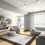 цвета в интерьере серая мебель