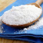 соль в ткани