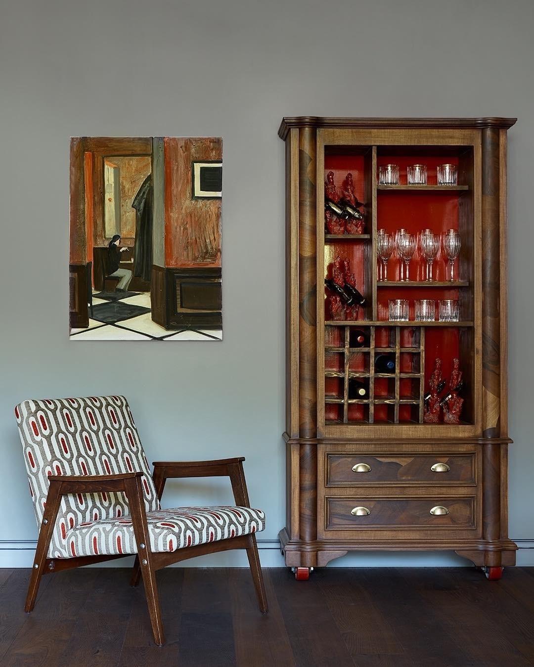 использование старой мебели в интерьере