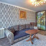 советская мебель цветной диван