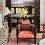 советская мебель розовое кресло