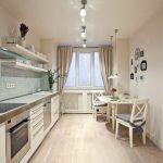 современный кухонный гарнитур декор идеи