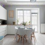 современный кухонный гарнитур идеи декор
