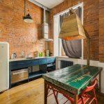 современный кухонный гарнитур фото
