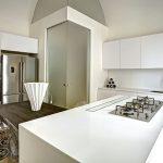 современный кухонный гарнитур фото интерьер
