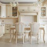 современный кухонный гарнитур фото интерьера