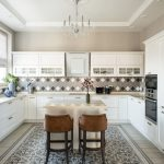 современный кухонный гарнитур идеи оформление